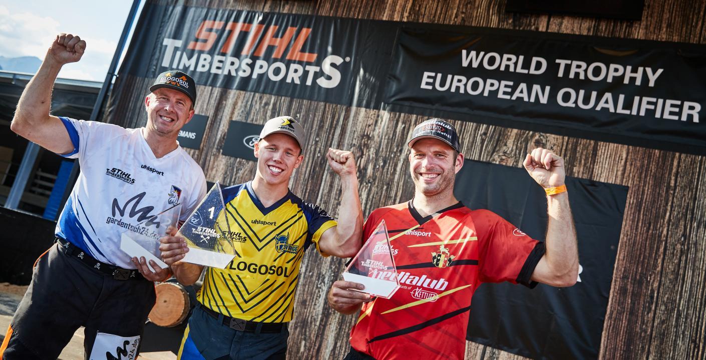 Svan, Komárek and Martens in the World Trophy European Qualifier