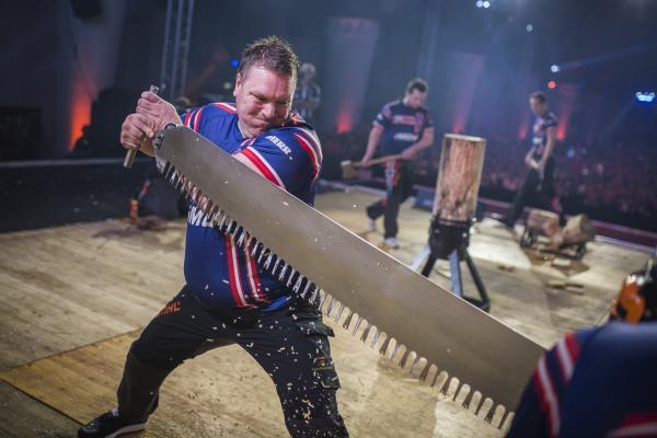 Ole Ivar Lierhagen during STIHL TIMBERSPORTS® World Championship 2019